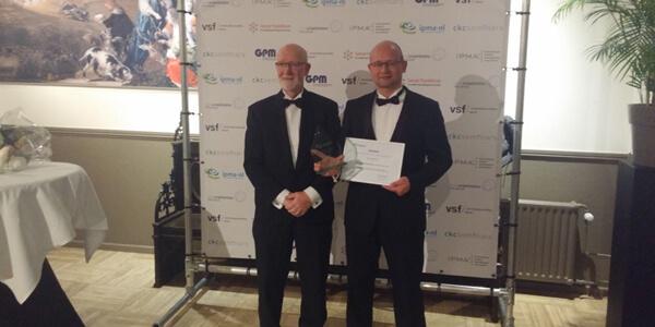 Uitreiking IPMA award 2017